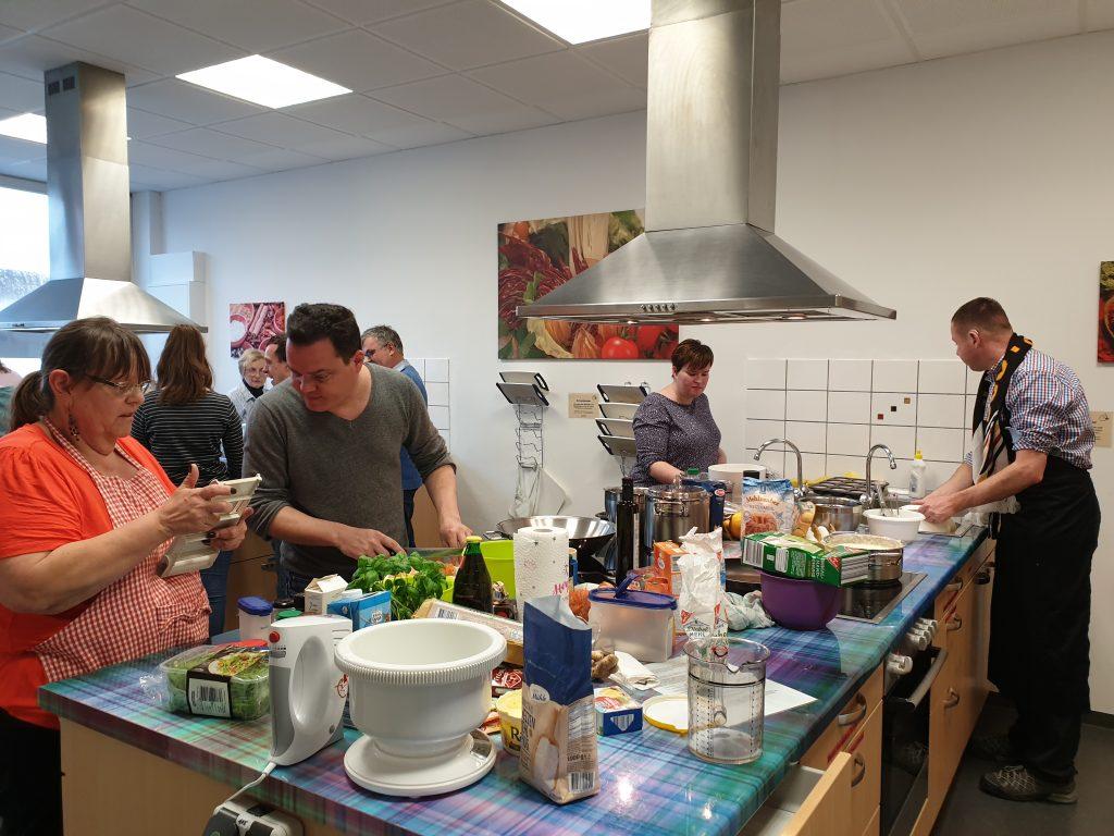 Integrativer Koch- und Backkurs